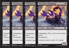 4x Venomous Changeling  -NM- Modern Horizons Black Common