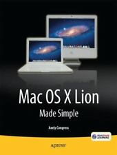 Mac Os X Lion Made Simple: By Congress, Axely
