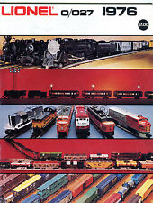 Lionel Trains 0/027 1976 Catalog EX 071016jhe2