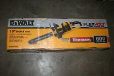 """Dewalt Flexvolt Brushless Chainsaw 60v 16"""" Dccs670X1 Kit - New"""