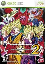 USED xbox 360 Dragon Ball Raging Blast 2*