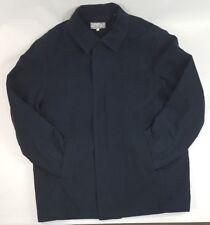 Men's Wilsons Pelle Studio Quilted Coat Jacket Blue Soft Size XLarge NWOT