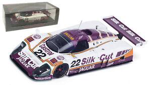 Spark S4716 Jaguar XJR9 #22 'Silk Cut' 4th Le Mans 1988 - 1/43 Scale
