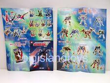 Gundam Wing Mobile Suit Endless Waltz 2000 Action Figure & Model Guide Catalog