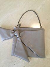 Ladies DIANA FERRARI Beige Evening Bag with detailed Bow