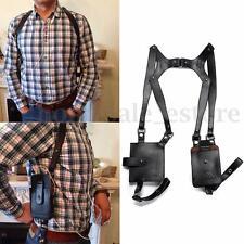Anti-theft Hidden Underarm Holster Style Shoulder Wallet Phone Case Bag Black