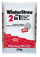 25 kg WinterStreu 2in1 Auftalz in Kombination mit Streusplitt und Streusalz