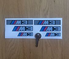 STICKER BMW M3 MOTOR SPORT RACE AUFKLEBER ADESIVI CAR MOTO PEGATINA