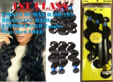 1ST CLASS VIRGIN HUMAN HAIR-10A BRAZILIAN HAIR-UNPROCESSED Tangle-Free,Shed FREE