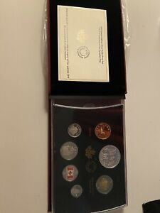 2015 Special Edition Silver Dollar Proof Set - 50th Anniversary of Canadian Flag