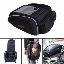 Multi-Function Magnetic Motorcycle Tank/Helmet Bag Saddlebags Backbag Waterproof
