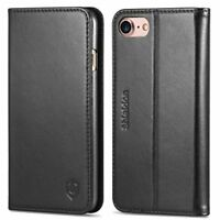 iPhone 8 Case, iPhone 7 Case, SHIELDON iPhone 8 Wallet Case with [Card Slots] [M