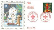 CROIX-ROUGE FRANCAISE - Fêtes de Fin d'Année - PARIS - 1998 - FDC