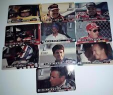 Assets Racing 1995: 1 Minute Cards -  Set of 10 Different Phone Cards