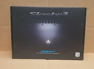 JL Audio 300/4V3 4-Channel Slash Series Car Amp 300 watts BRAND NEW in Box