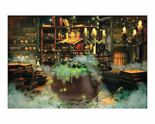 Halloween Witches' Kitchen Wall Mural Backdrop Banner Prop Decoration 9ft x 6ft