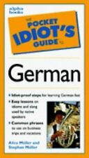 The Pocket Idiot's Guide to German Phrases (Pocket Idiot's Guides)-ExLibrary