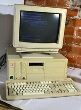 Vintage ESCOM 486DX2 50Mhz 4MB complete system with monitor and keyboard