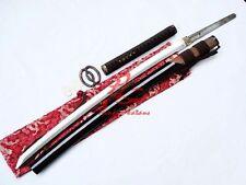 Hand made clay tempered sanmai blade jp samurai katana sword battle ready
