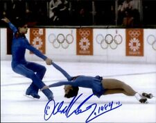 Lloyd Eisler Canada authentic signed SKATER 8x10 photo W/Cert Autographed A3