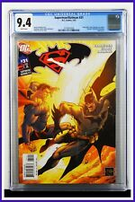 Superman Batman #31 CGC Graded 9.4 DC January 2007 White Pages Comic Book.