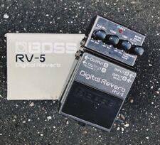 Boss RV-5 Reverb Guitar Effect Pedal, 2010, Japan