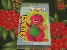 BARNEY'S ALPHABET ZOO~CLASSIC COLLECTION~EDUCATIONAL VHS~SHAWN TINA DEREK~TESTED