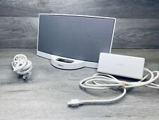 BOSE SoundDock Series 1 White 30 Pin IPod IPhone Dock W/ AC Adapter Speaker Dock