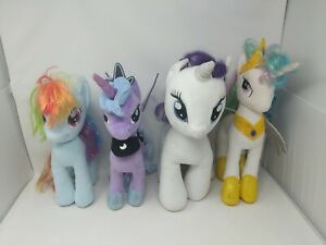 "My Little Pony G4 Aurora 15"" Stuffed Plush Princess Luna Celestia Rarity BAB Lot"
