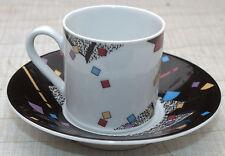 Espressotasse /Moccatasse  Untertasse Eschenbach Living colours 80er 80s vintage