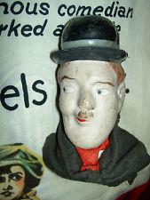 RARE antique composition, Stan Laurel or Buster Keaton, c1915 portrait doll head