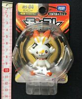 TAKARA TOMY Pokemon Moncolle Scorbunny Figure MS - 04 from Japan