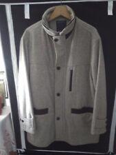 abrigo gris talla 52 marca barocco