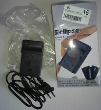 Eclipse Caricabatterie per Panasonic s100/s200/s303 AC 100v-240v ~ 50/60hz