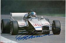 Derek WARWICK mano firmato Formula 1 foto 9x6 2.