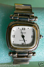 VTG Sterling Silver 925 band Eclissi wristband watch