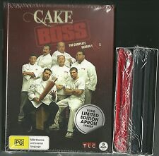 CAKE BOSS SEASON 1 + 2 + BONUS APRON 31 EPISODES BUDDY VALASTRO NEW 5 DVD SET