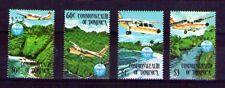 Dominica aviones comerciales serie del  año 1984 (J-74)