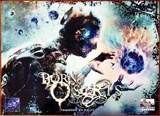 BORN OF OSIRIS Tomorrow We Die Alone Ltd Ed HUGE Discontinued RARE Poster! Metal