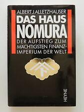 Das Haus Nomura Albert J Alletzhauser Auftstieg zum mächtigsten Finanzimperium +
