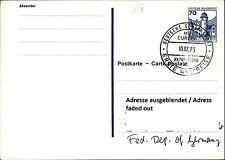 SCHIFFSPOST MS EUROPA 1983 Stempel ERSTE WELTREISE Seepost Shipmail