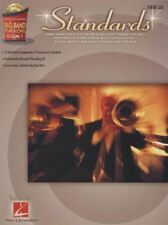 Standards Tenor Sax Big Band Play-Along Volume 7 Music Book/CD 10 Arrangements