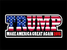 Trump 2016 Bumper Sticker Decal Whale Sticker Vinyl Vehicle Decor Waterproof