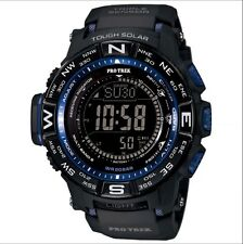Casio Mens PRW-3500Y-1C Pro Trek Quartz Solar Atomic Digital Display Black Watch