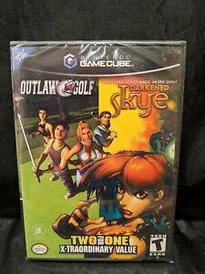 BRAND NEW Nintendo GameCube games: Outlaw Golf / Darkened Skye