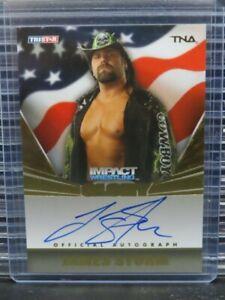 2009 Tristar James Storm Impact Wrestling Autograph Auto #180/199 Y667