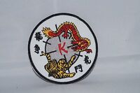 "3/"" P1247 Tiger Martial Arts Patch"