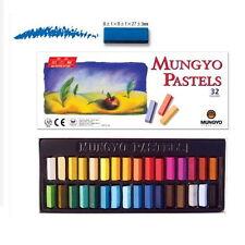 Mungyo Gallery Soft Pastels Cardboard Box Set of 32 Half Sticks - Assorted Co...