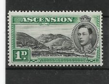 Ascension:1938/53:KGVI-1d.Stamp.Mint.Cat £45+