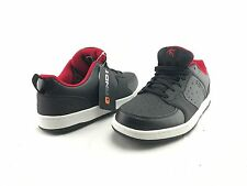 NEW AND1 Men's Lace Up Black Red Sport Sneaker Shoes US Size 9.5 M #A235